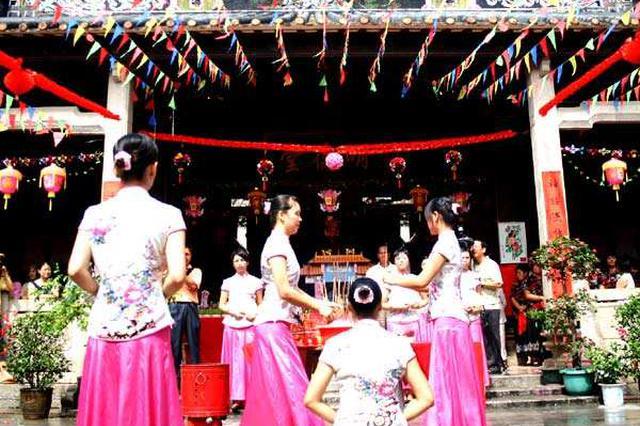 今年广州乞巧文化节首次回归民间 线上线下同步过节