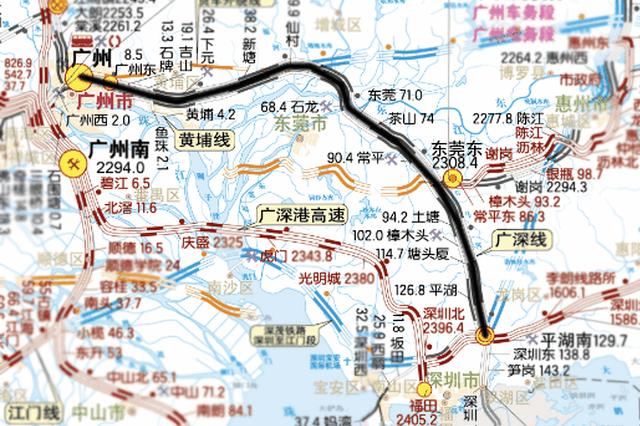 罗湖要通高铁了 深圳站接入全国高铁网