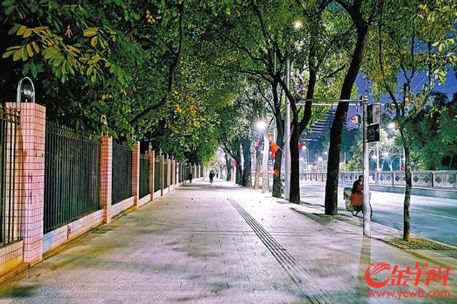 绿色廊道、天桥电梯等 广州解放路也上新了