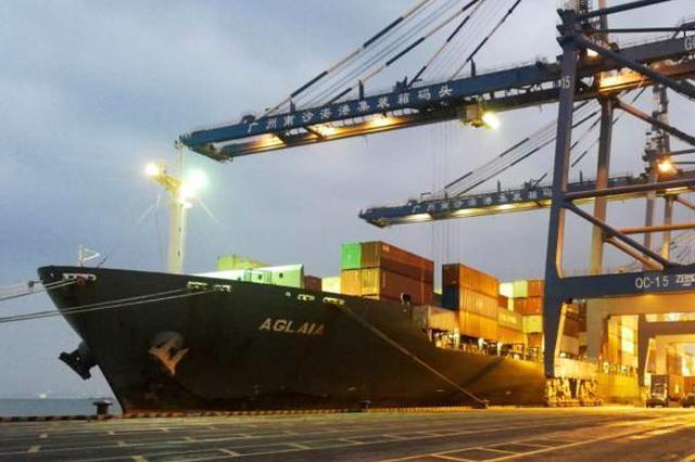 广州港外贸班轮航线达到120条 实现净增9条国际航线