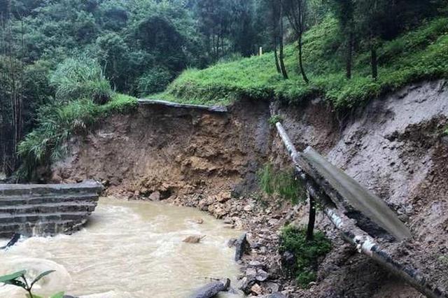 广东连续强降雨处于汛期 须防山洪等地质灾害