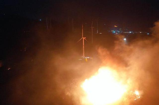 汕头南澳继续全力扑救山火 火情基本可控无人员伤亡