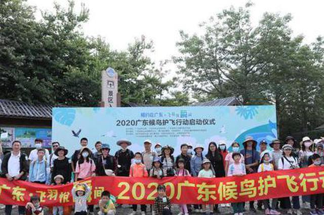 候鸟迁徙季来临 2020广东候鸟护飞行动启动