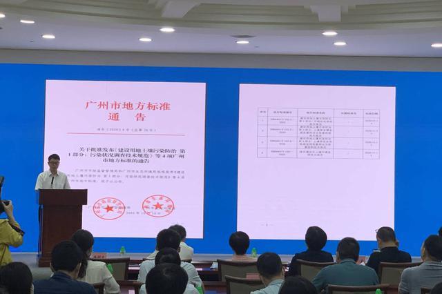 广州建设用地土壤污染防治系列标准 填国内技术空白
