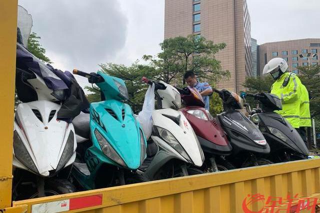 """广州交警即日起严查""""飙车""""""""非法运营""""等行为"""