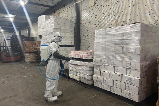广州建码全链条监管冷链食品 产品核酸检测均为阴性