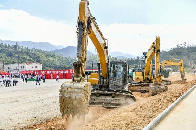 揭阳至惠来铁路开工 建设总工期4年全线设9座车站
