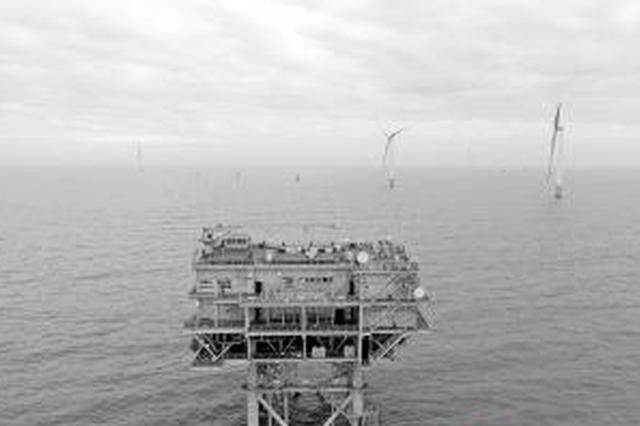 珠海金湾海上风电场首批风机并网发电 正式转入投运