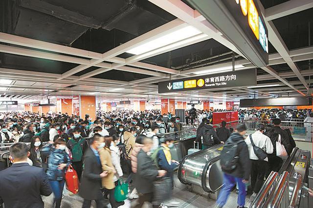 广州地铁春运出行指南 除夕夜全线网延长1小时收车