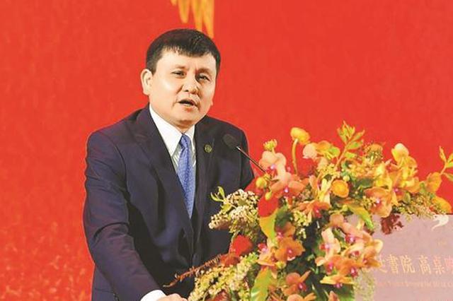 张文宏发表演讲