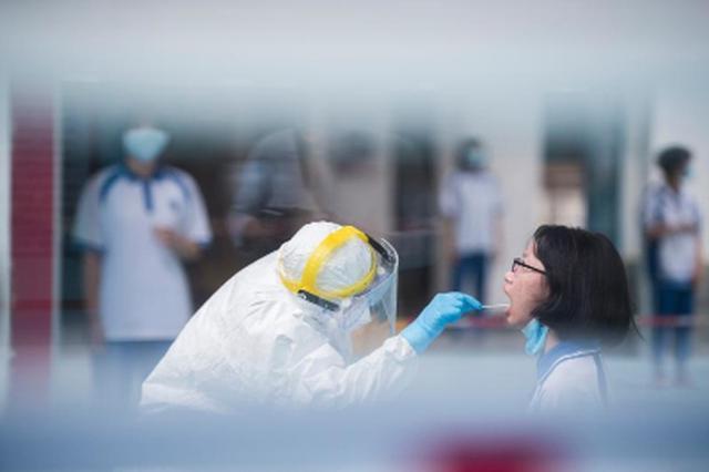 广州黄埔区开展全员核酸检测
