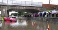 四川乐山遭遇强降雨袭击