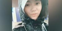 深圳美女外卖骑手靠励志走红