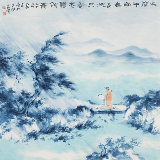 墨思新语——何洋作品展在广东南岸至尚美术馆开幕