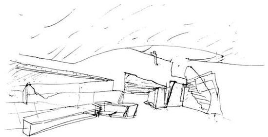 西扎手绘建筑图