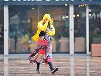 广州雨季来了 昨日雷雨大风和暴雨预警双双登场(图)