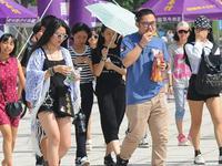 广州今明两天最高气温将达35摄氏度并伴随雷阵雨