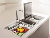 10品牌洗碗机对比测试:品牌性能差异大 洗涤效果理想