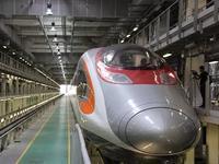 今日7时广深港高铁香港段正式开通 动感号列车好靓
