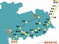 厦深铁路汕头联络线昨日全线贯通 11月底将开通