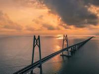 港珠澳大桥开展三地联合试运行 40分钟驶完全程