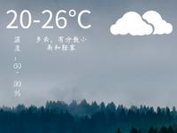 """弱冷空气含羞带怯地来气温""""骤降""""1℃ 早晚依旧清凉"""