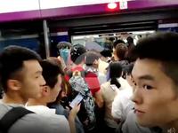 广州地铁六号线发生运营故障 站内滞留大量乘客