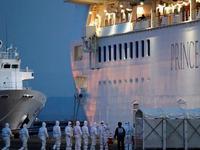 钻石公主号约500名乘客下船