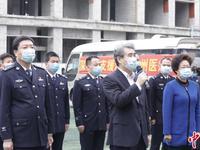 深圳第四批医疗队出征湖北荆州 队长曾参加抗击非典