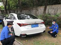 在公共绿地乱停车 深圳6车主被罚23223元