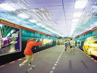 按三大主题设置户外广告 广州13条人行隧道要大变身