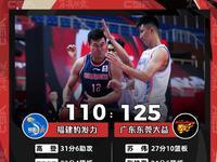 广东男篮轻取福建迎九连胜 老将苏伟27+10