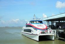 广深首条水上高速客运航线正式开通 南沙去深圳35分钟