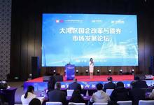 """""""大湾区国企改革与债券市场发展""""论坛在广州召开"""
