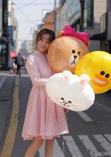 39岁陈紫函晒街拍美照