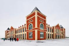 新疆巴克图口岸丝路文化城