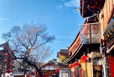 被岁月雕刻过的丽江古城