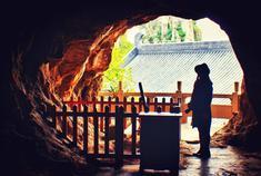 沐浴在南山寺的晨光里
