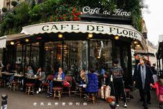 魅力十足的法式咖啡馆