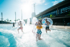 香港海洋公园水上乐园正式开幕