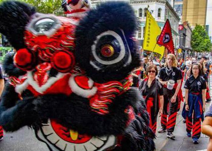 墨尔本举行中国新年庆典