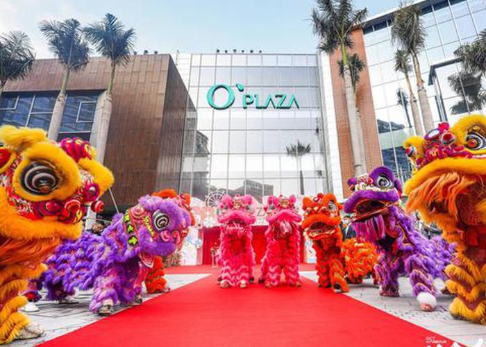 O'PLAZA购物中心已开业