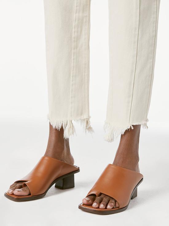 Le Beachwood Slide 高跟穆勒鞋