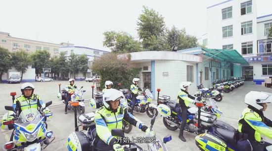 平安大道 超级英雄——顺德区公安局交警大队乐从中队侧记