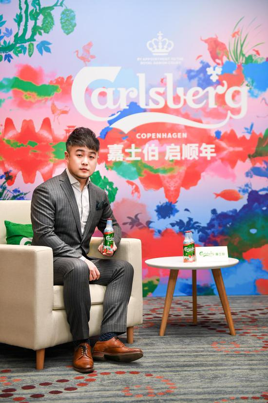 新锐艺术家张广宇与其先锋数字艺术作品《启顺》