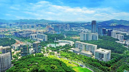 图为广州科学城,李剑锋 摄