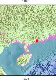 广东阳江市阳西县发生3.7级地震