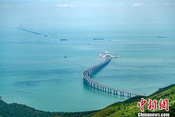 港珠澳大桥资料照片