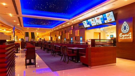 水晶廊餐厅环境