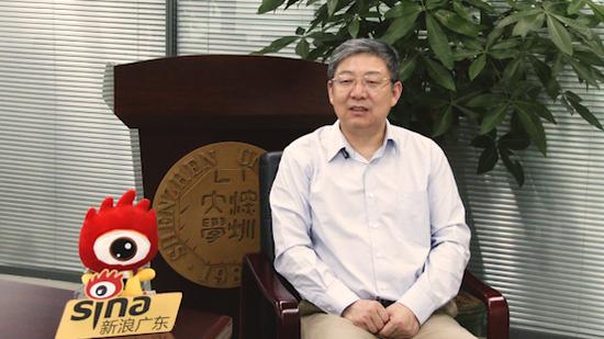 深圳大学校长李清泉接受新浪广东专访